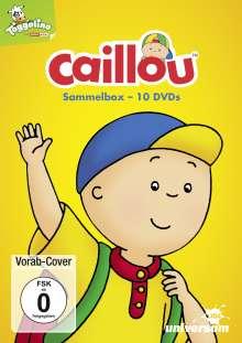 Caillou: Sammel-Box, 10 DVDs