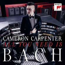 Cameron Carpenter -All you need is Bach, CD