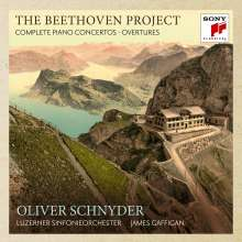 Ludwig van Beethoven (1770-1827): Klavierkonzerte Nr.1-5, 3 CDs