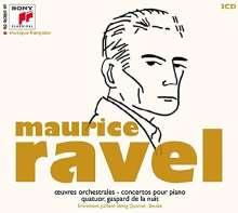 Maurice Ravel (1875-1937): Klavierkonzert G-dur, 3 CDs