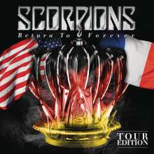 Scorpions: Return To Forever (Tour Edition), 1 CD und 2 DVDs
