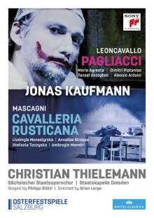 Pietro Mascagni (1863-1945): Cavalleria Rusticana, 2 DVDs