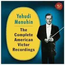 Yehudi Menuhin - The Complete American Victor Recordings, 6 CDs