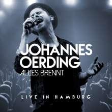 Johannes Oerding: Alles brennt: Live in Hamburg, 1 CD und 1 Blu-ray Disc