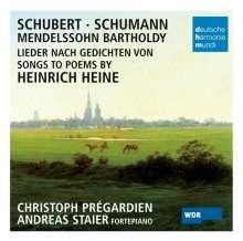 Christoph Pregardien singt Heine-Lieder, CD