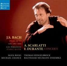 """Johann Sebastian Bach (1685-1750): Psalm 51 BWV 1083 """"Tilge,Höchster,meine Sünden"""", CD"""