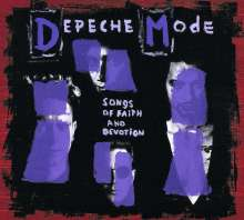 Depeche Mode: Songs Of Faith And Devotion (CD + DVD-Audio & Video), 1 CD und 1 DVD