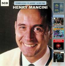 Henry Mancini (1924-1994): Timeless Classic Albums, 5 CDs