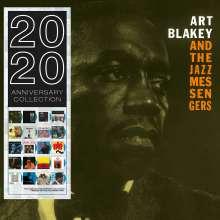 Art Blakey (1919-1990): Art Blakey & The Jazz Messengers (180g) (Limited Edition) (Blue Vinyl), LP