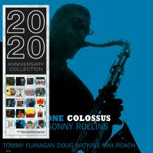 Sonny Rollins (geb. 1930): Saxophone Colossus (180g) (Limited Edition) (Blue Vinyl), LP
