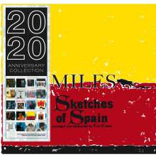 Miles Davis (1926-1991): Sketches Of Spain (180g) (Limited Edition) (Blue Vinyl), LP