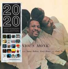 Thelonious Monk & Sonny Rollins: Brillant Corners (180g) (Limited Edition) (Blue Vinyl) (mono), LP