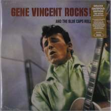Gene Vincent: Gene Vincent Rocks! And The Blue Caps Roll (180g) (Deluxe-Edition), LP