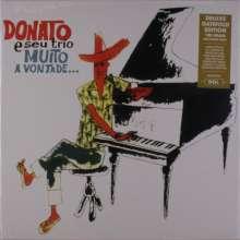 João Donato (geb. 1934): Muito A Vontade (180g) (Deluxe-Edition) (45 RPM), LP