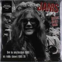 Janis Joplin: Live In Amsterdam Apr.11 '69 + US Radio Shows '69-'70 (180g), LP