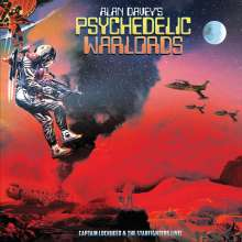 Alan Davey's Psychedelic Warlords: Captain Lockheed And The Starfighters Live!, LP