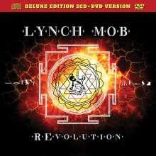 Lynch Mob: Revolution (Deluxe Edition), 2 CDs und 1 DVD