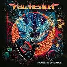 """Hawkestrel: Pioneers Of Space, 1 LP und 1 Single 12"""""""