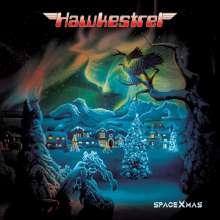 Hawkestrel: Spacexmas (Limited Edition) (Red. Green & White Splatter Vinyl), LP