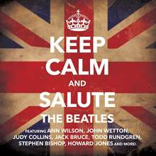 Keep Calm & Salute The Beatles, CD