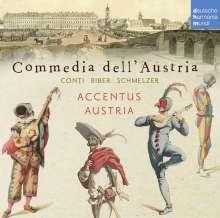 Commedia dell' Austria - Musik am Wiener Hof des 17. & 18. Jahrhunderts, CD