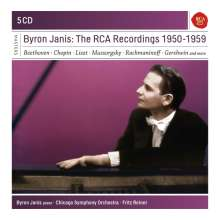 Byron Janis - The RCA Recordings 1950-1959, 5 CDs