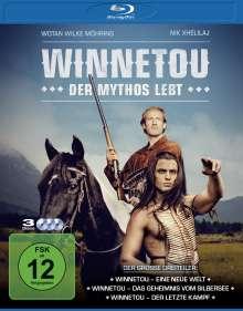 Winnetou - Der Mythos lebt (Blu-ray), 3 Blu-ray Discs
