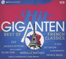 Die Hit-Giganten: Best Of French Classics, 3 CDs