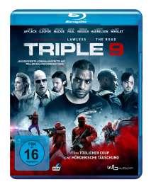 Triple 9 (Blu-ray), Blu-ray Disc