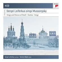 Sergei Leiferkus sings Mussorgsky, 4 CDs