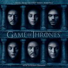 Filmmusik: Game Of Thrones: Season 6 (Enhanced), CD