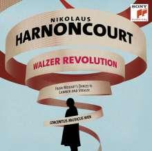 Nikolaus Harnoncourt - Walzer Revolution (180g), 3 LPs
