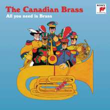 Canadian Brass - All you need is Brass, CD