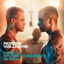 Robbie Williams: Heavy Entertainment Show (Deluxe-Edition), 1 CD und 1 DVD