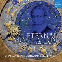 Claudio Monteverdi (1567-1643): Vespro della beata vergine (Venedig, 1650), CD
