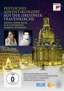 Festliches Adventskonzert aus der Dresdner Frauenkirche 2015, DVD