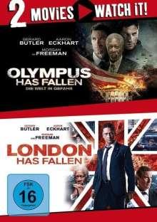 Olympus Has Fallen / London Has Fallen, 2 DVDs