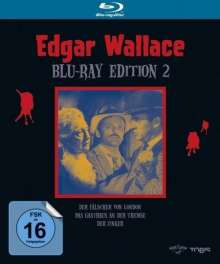 Edgar Wallace Edition 2 (Blu-ray), 3 Blu-ray Discs
