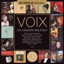 VOIX - Les Grands Recitals, 15 CDs