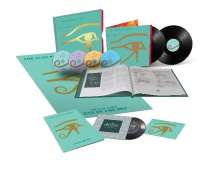 """The Alan Parsons Project: Eye In The Sky (35th-Anniversary-Boxset), 2 LPs, 3 CDs, 1 Blu-ray Disc, 1 Single 7"""" und 1 Buch"""