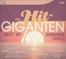 Die Hit-Giganten: Best Of Summer Chill, 3 CDs