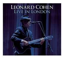 Leonard Cohen (1934-2016): Live In London 2008 (180g), 3 LPs