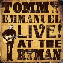 Tommy Emmanuel: Live! At The Ryman, CD