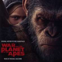 Michael Giacchino (geb. 1967): Filmmusik: War For The Planet Of The Apes, CD