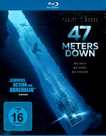 47 Meters Down (Blu-ray), Blu-ray Disc