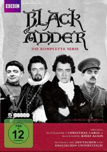 Black Adder (Komplette Serie), 5 DVDs
