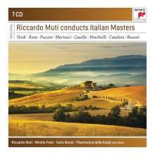 Riccardo Muti conducts Italian Masters, 7 CDs