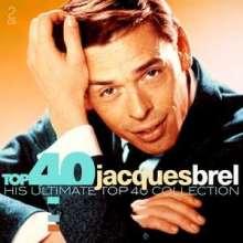 Jacques Brel (1929-1978): Top 40, 2 CDs