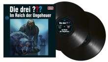 Die drei ???: Die drei ??? (Folge 195) - Im Reich der Ungeheuer (180g) (Limited-Edition), 2 LPs