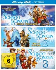 Die Schneekönigin 1-3 (3D Blu-ray), 3 Blu-ray Discs